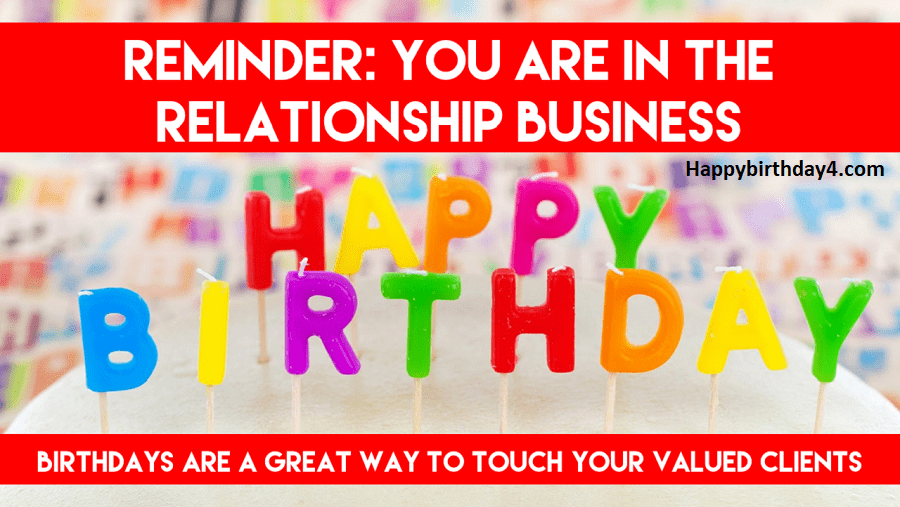 Happy Birthday Wishes for Clients and Customers