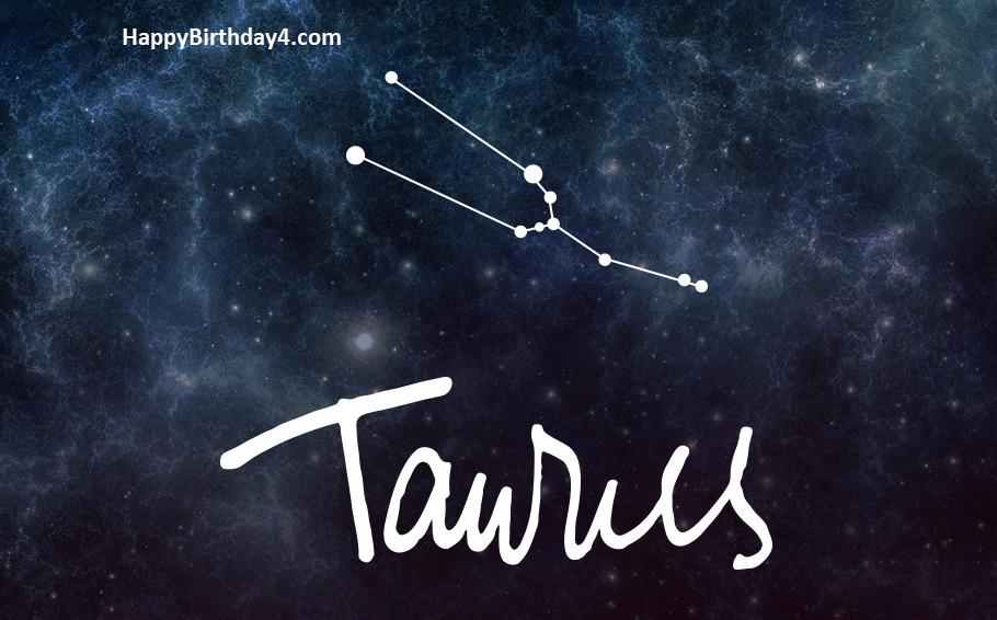 Taurus Happy Birthday Wishes