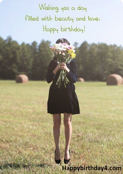 Birthday Wishes For Girls
