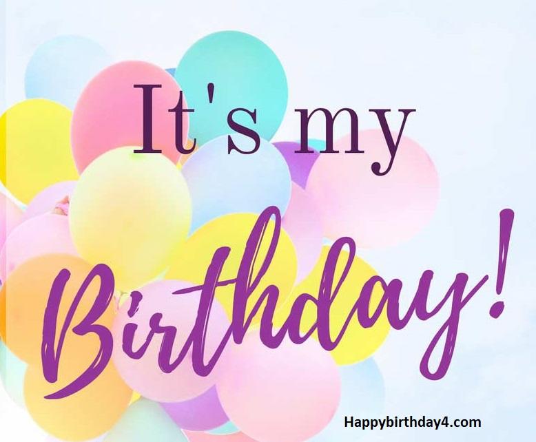 Happy Birthday to Me Wishes