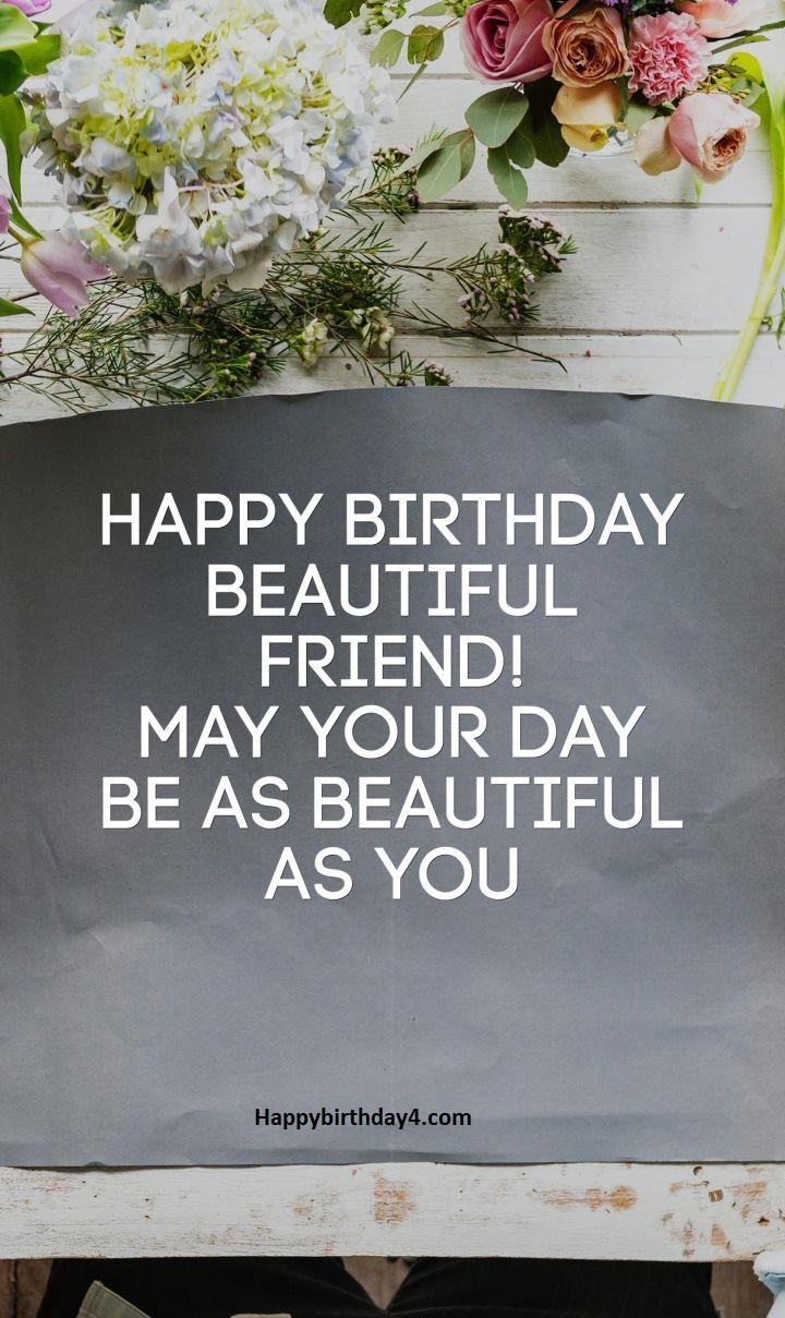 Birthday Beautiful Friend