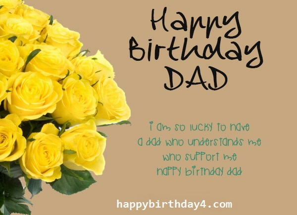 Happy Birthday Dad Wishes, Images and Messages