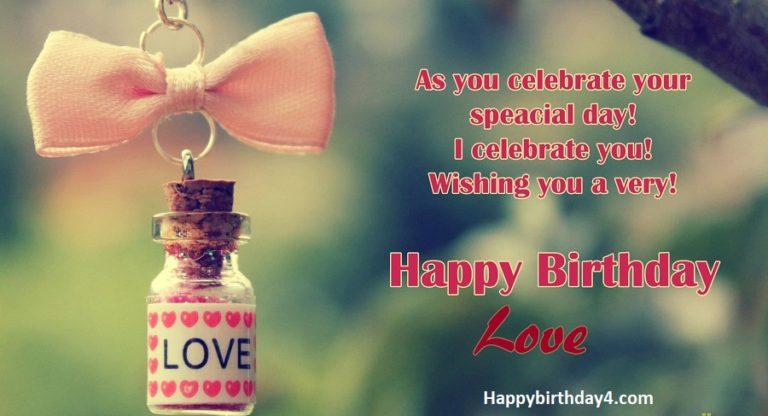 Birthday Wishes For My Ex-Lover