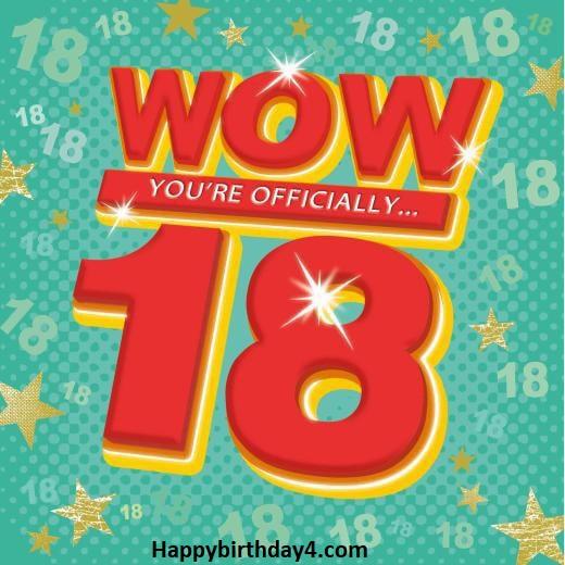 18th Birthday Wishes